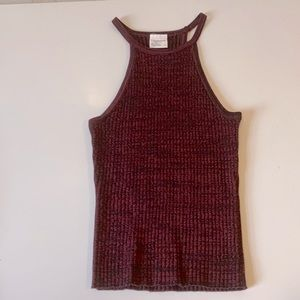 High neck top size Small